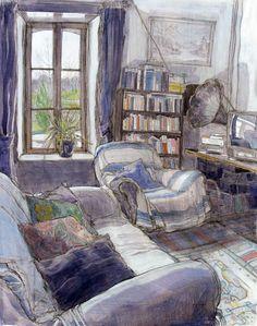 葛根湯・般若湯・金平糖 — huariqueje: The Living Room at La Mardelle,...