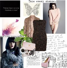 """Don't you ever change"" by alessiia ❤ liked on Polyvore"