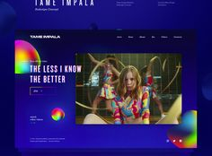 Tame Impala - Redesign Concept on Behance