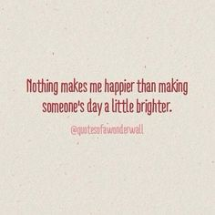 Make someone's day a little brighter