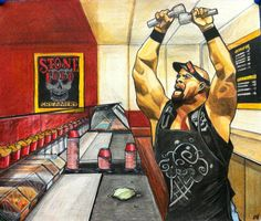 Stone Cold by Austin Wwe, Steve Austin, Nice Art, Cool Art, Stone Cold Steve, Best Fan, Wwe Wrestlers, Professional Wrestling, Wwe Superstars