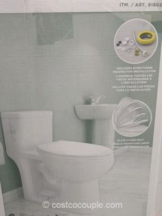 Costco Water Ridge One Piece Toilet Fixtures From Your House Get As Much Use Bathroom Because Of Stringent Wate