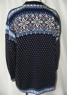 Dale of Norway Classic Nordic Fair Isle LUXE Cotton Knit Cardigan Sweater XL - fair isle knittings Sweater Cardigan, Knit Sweaters, Cardigans, Norwegian Knitting, Fair Isles, Fair Isle Knitting, Vera Bradley Backpack, Norway, Classic