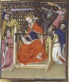 Medieval Post Loom