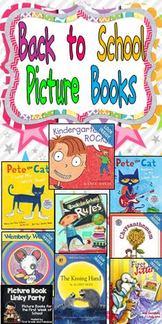 Back to School Picture Books :)