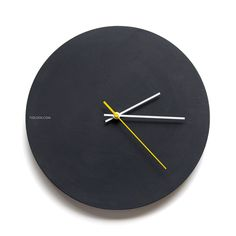 Create your own masterpiece or messages or leave simple matt black! You can clean the chalk with a damp cloth easily. diameter MDF hand painted with black