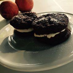 """#glutenfree #sugarfree #dukan #dukandiet #lowfat #LowCarb #woopiepie  Dikandiet """"woopiepies"""" baked and assembled by my Arnau by silviabouysas"""