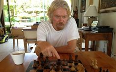 Chess & Strategy Trivia : Could you guess who is this famous business man & chess player ? Hint on http://www.chess-and-strategy.com/