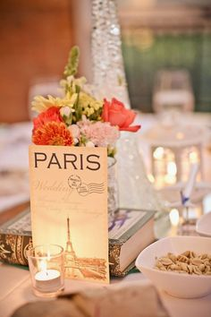 15 stunning table number ideas for your travel-inspired wedding. Wedding table numbers can be a fun and interesting way to personalize your wedding decor. ideas themes unique 15 Table number ideas for your travel-inspired wedding - Bellus Designs Wedding Table Names, Wedding Menu Cards, Wedding Centerpieces, Wedding Decorations, Decor Wedding, Table Centerpieces, Centrepieces, Centerpiece Ideas, Engagement Party Themes
