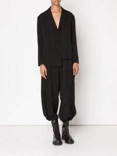 Yohji Yamamoto asymmetric blazer
