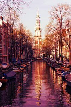 Canal / Amsterdã / Holanda