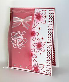 Flowers & Frames - Stamp Tv Kit Available @ http://www.shop.ginakdesigns.com  Made for Gina K. Designs by: Karen Hightower