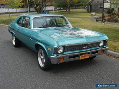 1972 Chevrolet Nova 2 door coupe #chevrolet #nova #forsale #unitedstates