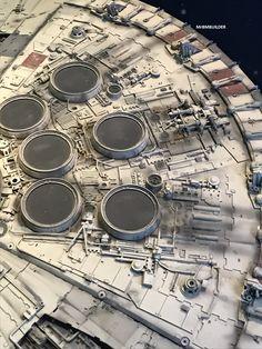 Studio Millennium Falcon from Star Wars Identities - Sydney 2019 | RPF Costume and Prop Maker Community