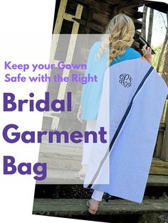 6ee3196af6 9 Bridal Garment Bags to Buy for your Wedding Day