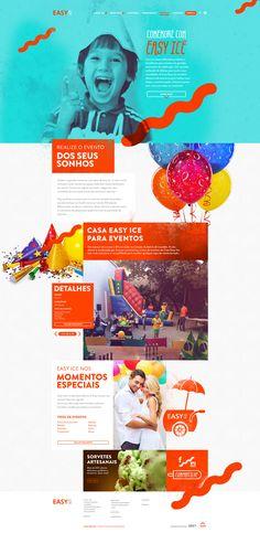 Unique Web Design, Easy Ice via @marcovincit #WebDesign #Design