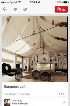 Ceiling textile