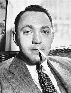 Dutch Schultz.  Last words, to police: Hey, Jimmie! The Chimney Sweeps. Talk to the Sword. Shut up, you got a big mouth! Please come help me up, Henny. Max come over here... French Canadian bean soup... I want to pay, let them leave me alone...