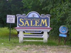 Salem Welcome Sign by J. Stephen Conn, via Flickr