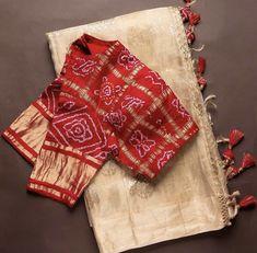 Hand Work Blouse Design, Simple Blouse Designs, Saree Embroidery Design, Saree Blouse Neck Designs, Designer Blouse Patterns, Sari, Traditional, Wedding, Outfits