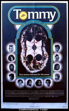 The Who: 1975 musical film 'Tommy' featured Roger Daltrey,Tina Turner, Elton John, Jack Nicholson, Eric Clapton, Ann-Margaret and Oliver Reed,