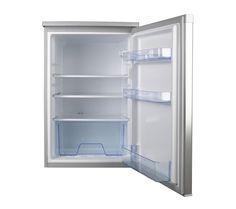 curry's undercounter silver fridge