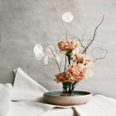 Modern Lunaria Wedding Ideas | One Fab Day Modern Wedding Flowers, Wedding Flower Inspiration, Floral Wedding, Wedding Ideas, Whimsical Wedding, Simple Centerpieces, Wedding Centerpieces, Wedding Decorations, Centrepieces