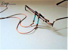 Simple Eyeglasses Chain∫Plain Glasses Chain Cord∫Turquoise Eyeglass Lanyard∫Eye Glasses Cord∫Soft Glasses Chain For Women∫Sunglasses Holder