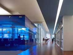 Image result for blue glass meeting room