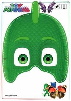 Printables - PJ Masks Owlette, Gekko, & Catboy Masks | All Mommy Wants<br> Looking for PJ Masks Games & Activities? Print out these Owlette, Gekko, and Catboy masks free! Pj Masks Printable, Printable Halloween Masks, Free Printables, Mascaras Pj Masks, Pj Masks Games, Pj Max, Pjmask Party, Pj Masks Costume, Costumes