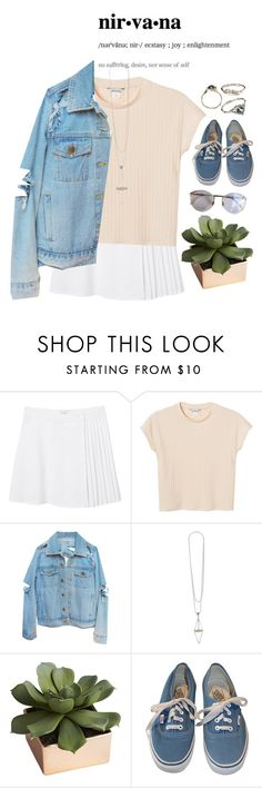 """Nirvana"" by elisalagop ❤ liked on Polyvore featuring Monki, Lagos, CB2, Vans, women's clothing, women, female, woman, misses and juniors"