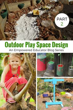 If you need to revamp tired outdoor play areas or are ready to start designing a more natural outdoor space, Part 2 of this series will help you with simple,budget friendly ideas, action steps and photo inspiration. Simple tips and projects for home daycare, early childhood educators, teachers, homeschool and the family backyard!