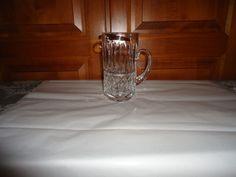 """Vintage 1970's Waterford Crystal 6"""" Beer Stein. Maeve Pattern. Ireland #WaterfordCrystal"""