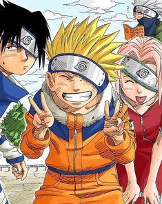 Whats your favorite Team 7 moment? Naruto Sasuke Sakura, Naruto Shippuden Anime, Naruto Art, Sakura Haruno, Boruto, Team 7, Manga Art, Manga Anime, Dragon Ball