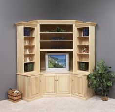 DIY Corner Entertainment Center Do you have a brand-new house? If so, knowing about DIY entertainment center suggestions may be essential for you. We have 17 inspiration for you Corner Entertainment Unit, Wall Mount Entertainment Center, Corner Tv Unit, Entertainment Center Kitchen, Entertainment System, Corner Wall, Entertainment Centres, Room Corner, Small Corner