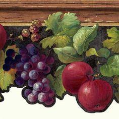 Fruit & Ivy Border