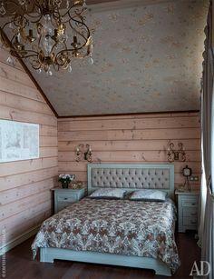 Деревянный дом в Подмосковье по проекту Xenia Design Studio: фото интерьеров | Admagazine | AD Magazine