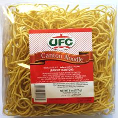 ufc-canton-noodle-227g Ufc, Canton Noodles, Philippines, Asia Food, Pinoy Food