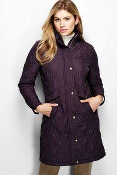 9906b58128d68 Women s Plus Size Quilted Primaloft Coat Plus Size Swimwear