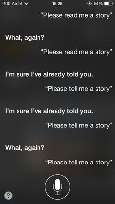 How to get Siri to tell you a bedtime Story