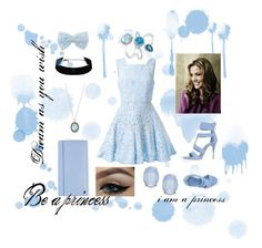 """""""Cinderella for a while"""" by keziasilitonga on Polyvore featuring Alex Perry, Cara, Armenta, Le Silla, Effy Jewelry, Decree, Smythson, women's clothing, women and female"""