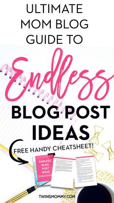 Need some blog post idea inspiration? Coming up with brand new blog post ideas can be hard, right mama? If this isn't part of your blog content strategy, don't worry. Here is the guide to endless ideas for your mom blog. It doesn't matter what niche you are in. Make sure to grab the handy cheatsheet that lists all the ideas for you! | content calendar | content creation | content creation ideas | blogging for beginners