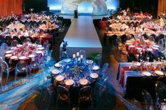 At Clarks' annual meeting in July, held at the Boston Park Plaza Hotel & Towers, guests were seated in Ghost Chairs rented from Peterson Party Center Inc.