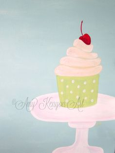Cupcake Art by Amy Kenyon