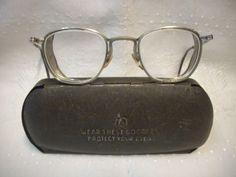 b7177b0adff Vtg-AO-American-Optical-Safety-Glasses -Goggles-Mesh-Eye-Guards-w-Case-All-Metal