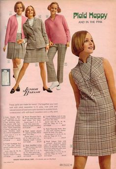 Plaid Happy for Sears 1970s - so remember this!
