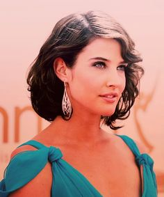 Robin short hair on How I Met Your Mother