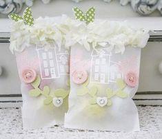 emboss stamp on glassine bags