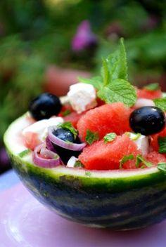 salads watermelon feta olive 300x450
