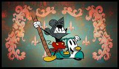 Justin Parpan Blog: Mickey Mouse Shorts